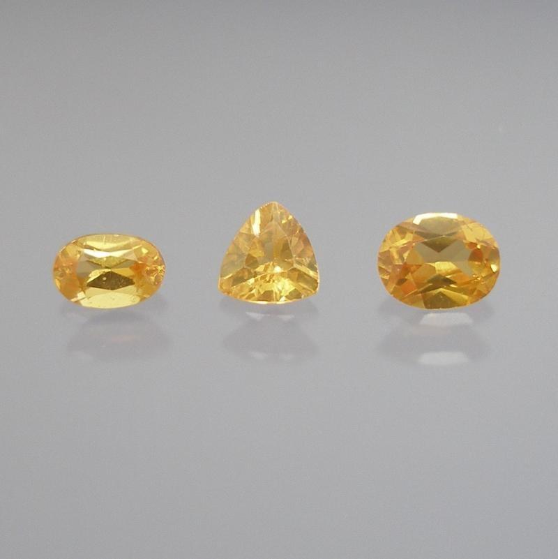 Scheelit facettiert 6x4 mm, China