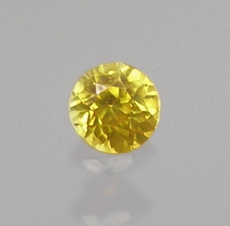 Sphalerit (Zinkblende) facettiert 2,5 mm, Spanien