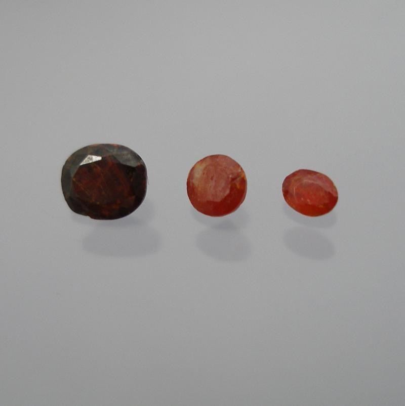 Zinkit facettiert 3,5x2,5 mm, New Jersey, USA