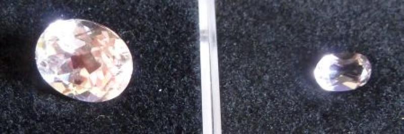 Spodumen (Kunzit) facettiert 5 mm, Brasilien 10 Stück