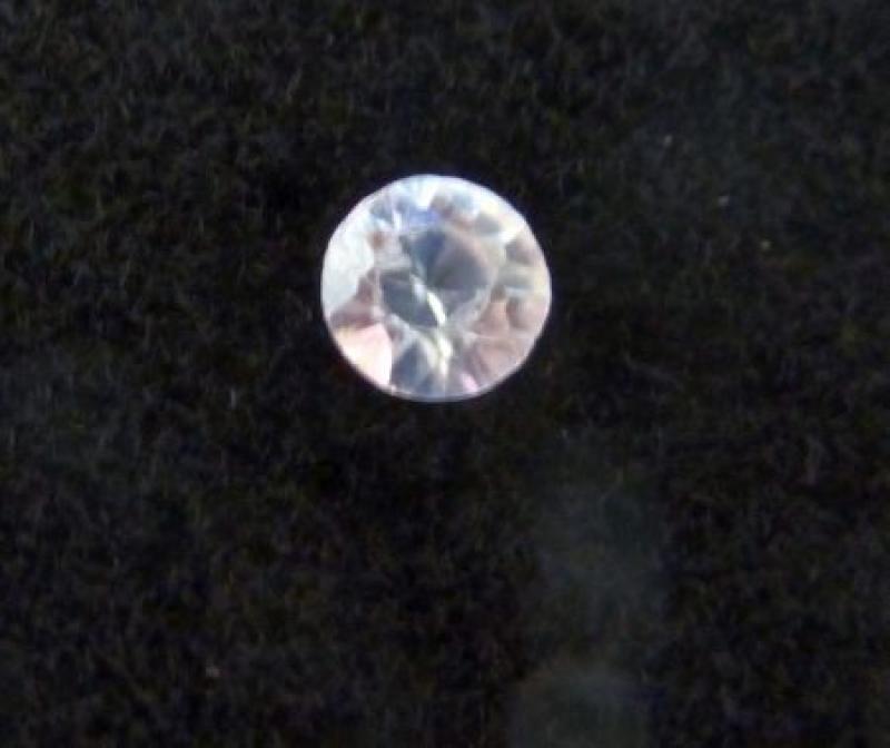 Zirkon facettiert 3 mm, Kambodscha 10 Stück