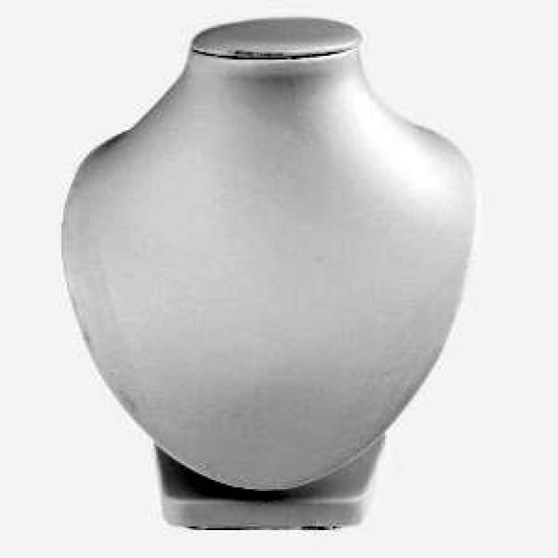 Schmuckständer (Schmuckbüste) Weiß 160mm