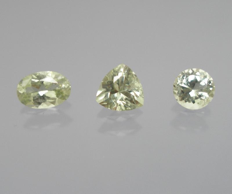 Diopsid facettiert 6,5x4,5 mm, Tansania