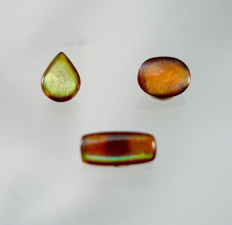 Granat (irisierend) Cabochon 6x3,5 mm, Japan
