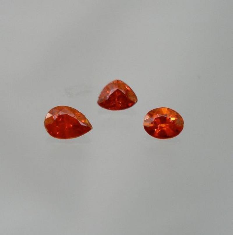 Wurtzit facettiert 2,3 mm, Tansania