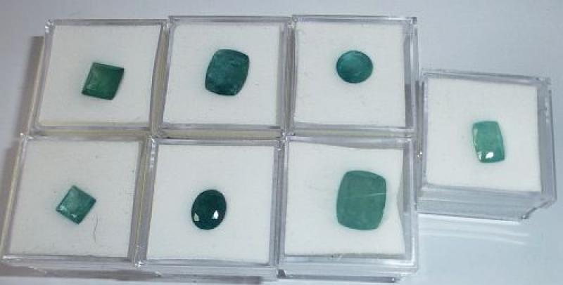Grandidierit facettiert 12x10 mm, Madagaskar