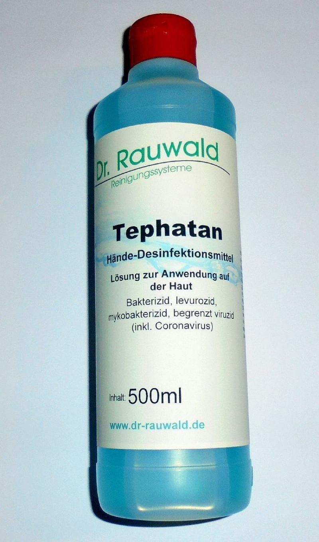 Tephatan, Hände-Desinfektionsmittel speziell gegen Viren (incl. Coronavirus) 1000 ml