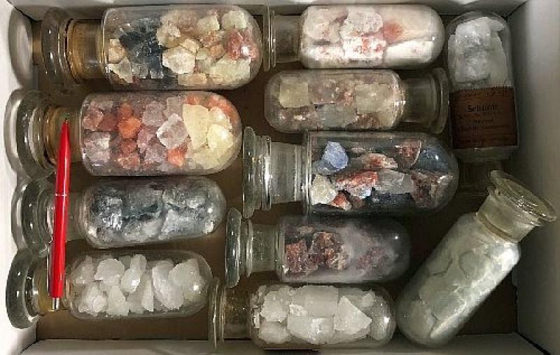 Salze aus Reyershausen, D. im historischen Glas, 10 Gläser