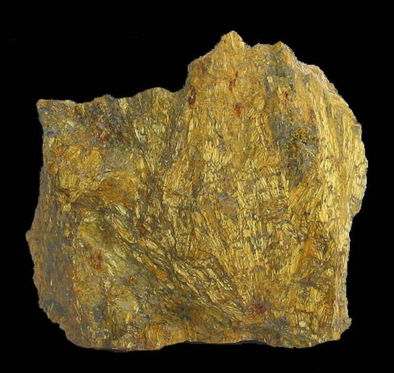 Oxyplumboromeit (Bindheimit); Hamman N'Bail Mine, Constantione Prov., Algerien; MM