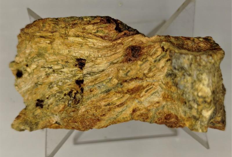Oxyplumboromeit (Bindheimit); Djebel Nador, Constantione Prov., Algerien; MM