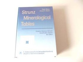 Strunz - Mineralogische Tafeln