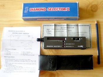 """Diamant Tester (Diamanttester) """"Selektor 2"""" MIKON (WEEE-Reg.-Nr. DE 75181174)"""