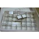 Perky Dosen 1.25 Zoll, 2 Schachteln mit je 28 Stück, mit weißer Einlage