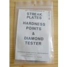 Hanneman Testset für Strichfarbe, Härte und Diamanttester