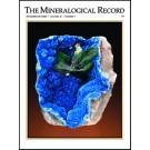 Mineralogical Record Vol. kompletter Satz von Vol. 1/1 1970 bis Vol. 50/6 2019