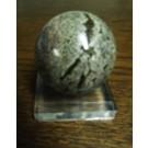 Plexiglassockel, Eier/Kugelständer, ganz poliert, 5 x 5 x 1,3 cm, 05 Stück (SD82x5)
