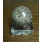 Plexiglassockel, Eier/Kugelständer, ganz poliert, 5 x 5 x 1,9 cm, 10 Stück (SD90x10)