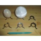 Eier-/Kugelständer silber (10 Stück)