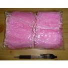 Schmuckbeutel Organza pink 100 Stück