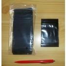 Polybeutel (Druckverschußbeutel) schwarz 040 x 080 mm