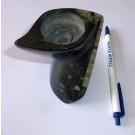 Orthoceras Teelichthalter - Kerzenständer, schwarz/weiß, 1 Stück