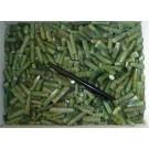 Nephrit-Jade, polierte Spitzen, Afghanistan, 10 Stück