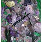 Sugilit (Sugilith); Wessel Mine, Kalahari Manganese Fields, Northern Province, RSA; MM