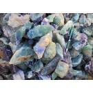 Fluorit (Regenbogenfluorit, bunt, Schleifware), Uis, Namibia, 100 kg