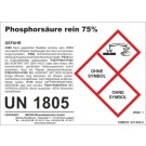 Phosphorsäure 1 l (= 1,73 kg)