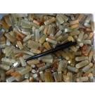 Rutilquarz, polierte Spitzen, Afghanistan, 100 Stück