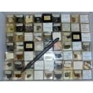 Gemischte Mineralien aus Sachsen, D., 1 Partie mit 63 Stück.
