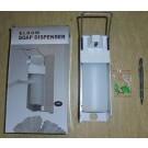 Desinfektionsmittel Spender, Flüssigkeitsspender, Seifenspender, mechanisch mit Flasche (500 ml), 1 Stück