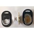 Handyhalterung (Aufklappbar) mit Achatscheibe (naturfarben - hell), 1 Stück