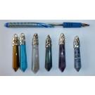 Steinspitzenanhänger, Blaufluss, 1 Stück