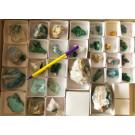 Gemischte Mineralien, Steiner Mine, Kaokoveld, Namibia, 1 Steige