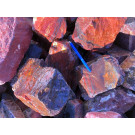 Jaspis, rot, Namibia, 1 kg