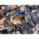 Schörl (schwarzer Turmalin in Matrix), Namibia, 100 kg