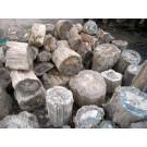 Fossiles (versteinertes) Holz, einseitig gesägt, Madagaskar, 35 kg