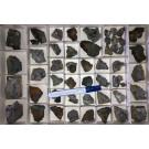 Gemischte Mineralien der Schlacken von Lautenthal, Harz, Deutschland, 1 Steige