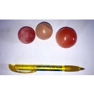 Selenit Kugel, 4 cm, orange, 25 Stück