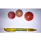 Selenit Kugel, 4 cm, orange, 1 Stück