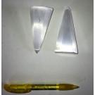 Selenit Berge, Haxagon, poliert, 8 bis 10 cm, 10 Stück