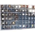 Elemente, 78 verschiedene Elemente und 33 Legierungen