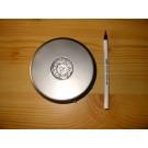 LED Untersetzer, 15 LED, rund, silber, 10 Stück