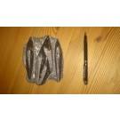 Orthoceras Platte, ca. 15 - 20 cm, poliert, Marokko, 1 Stück