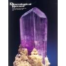 Mineralogical Record Vol. 28, #6 1997