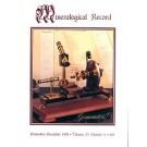 Mineralogical Record Vol. 29, #6 1998