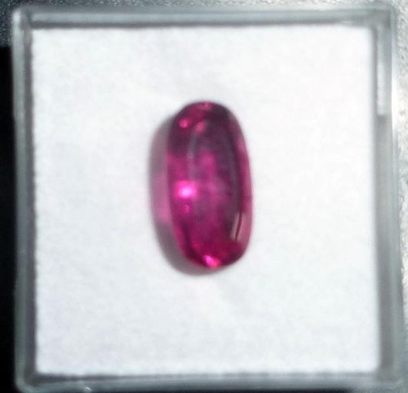 Tourmaline facetted, 11 mm, Brazil