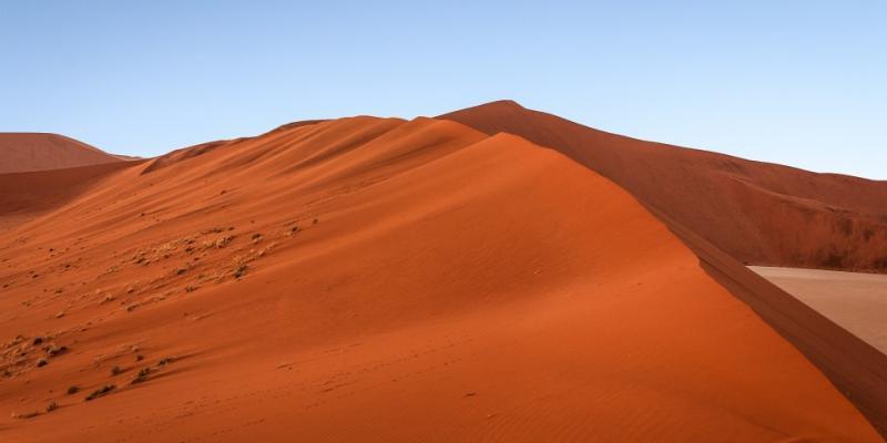 Sand, desert sand (red), Sesfontein, Namibia 1 kg