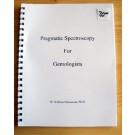 """Dr. Hanneman """"Pragmatic Spectroscopy for Gemologist"""" (NEW!)"""